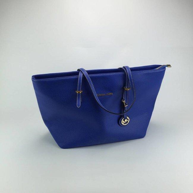 Tientjes Blauwe handtas