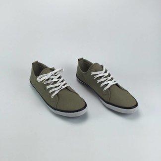 H&M Grijsbeige sneakers (40)