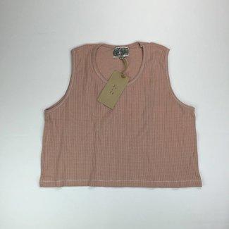 Tientjes Donker roze topje (XL)