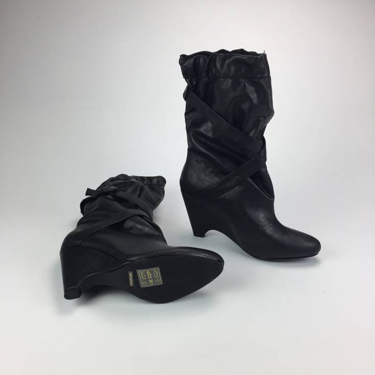 Zwarte laarzen in maat 38,5 Tientjeofminder.nl