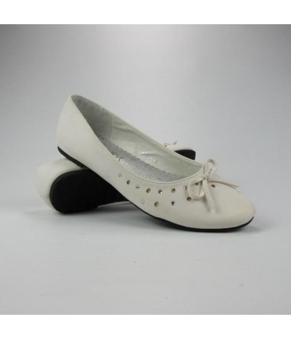 Lorena Paris Witte ballerinas (38/39)