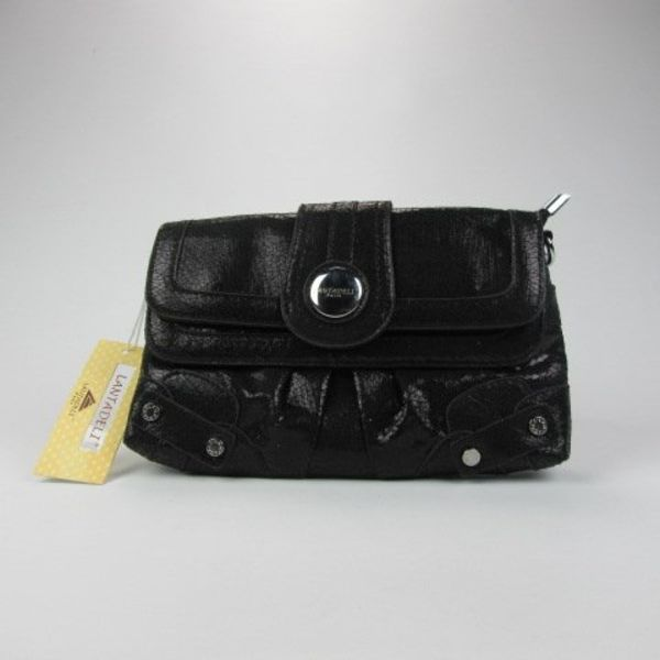 Zwarte clutch