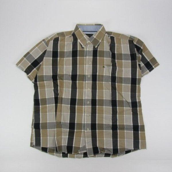 Overhemd met korte mouw (XXXL)