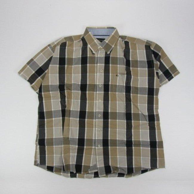 Tientjes Overhemd met korte mouw (XXXL)