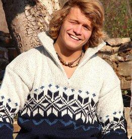 "Portugesewol Norwegian pullover ""Redondo"""