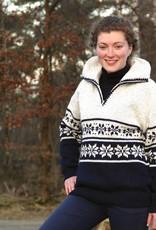 "Portugesewol Norwegian pullover ""Lixa"""
