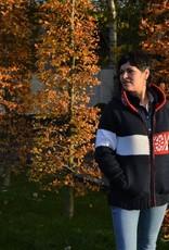 Portugesewol Sportliche Weste für Outdoor-Aktivitäten mit Seitentaschen und Kapuze