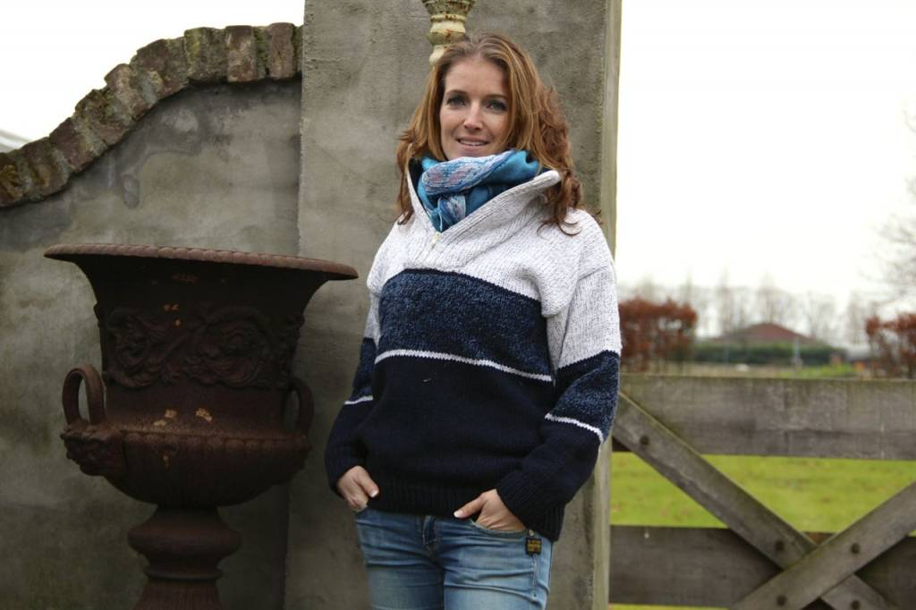 """Portugesewol  """"Vagos"""" knitted wool sweater in 3 colors"""