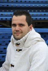 Portugesewol  Cardigan with hood white