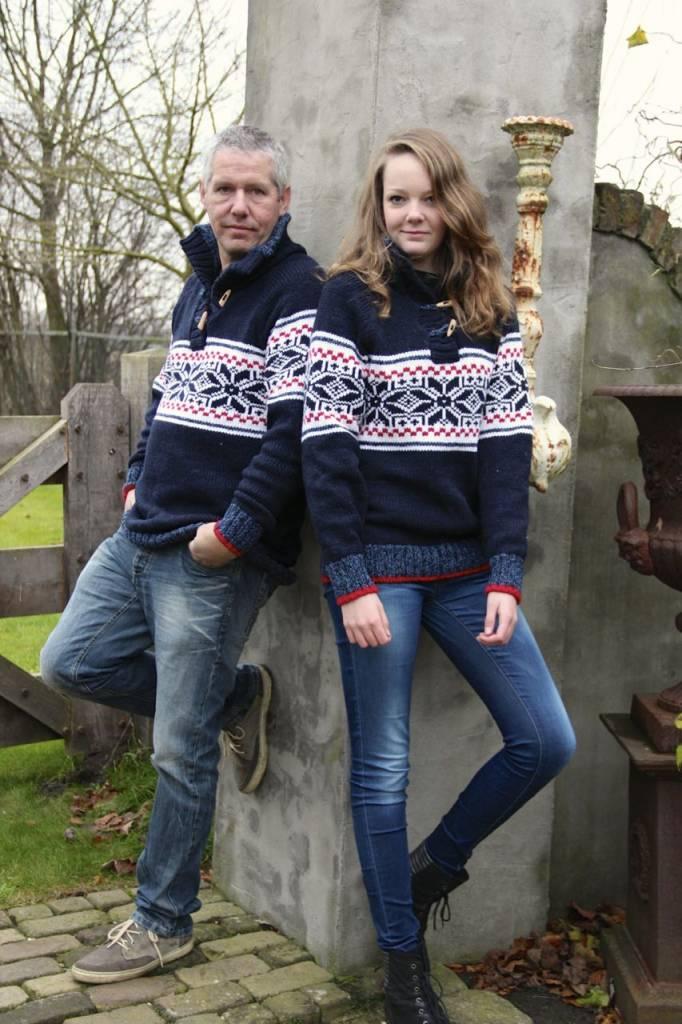 "Portugesewol  Knitted woolen sweater ""Estrella"""