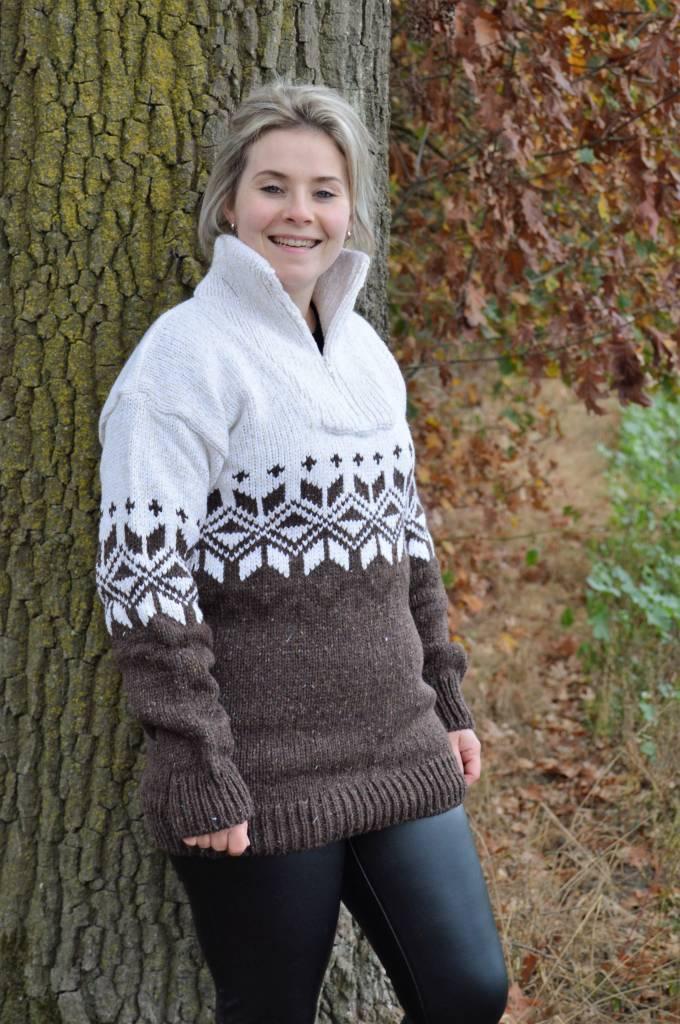 "Portugesewol Norwegian Sweater ""Braga"""
