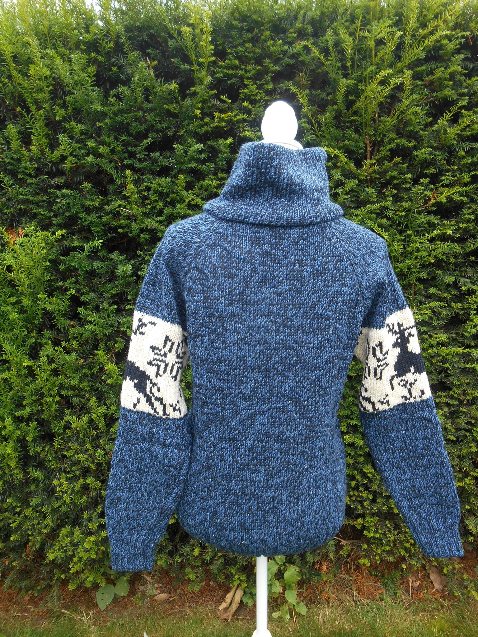 "Portugesewol  Norwegian knit sweater ""Caria"""