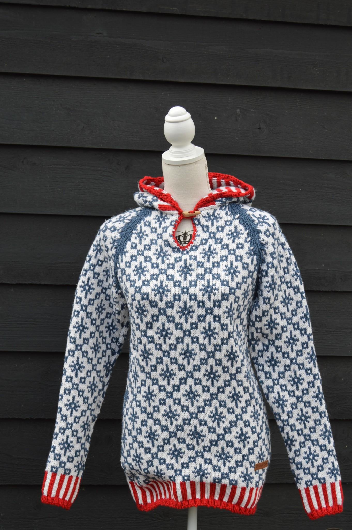 "Original South  Norwegischer Pullover mit Kapuze ""Codal"""