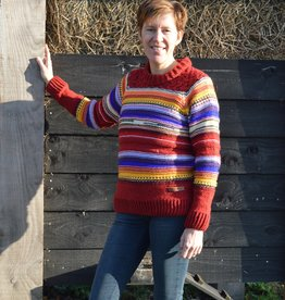"Original South Gestrickter Wollpullover ""Mina"""