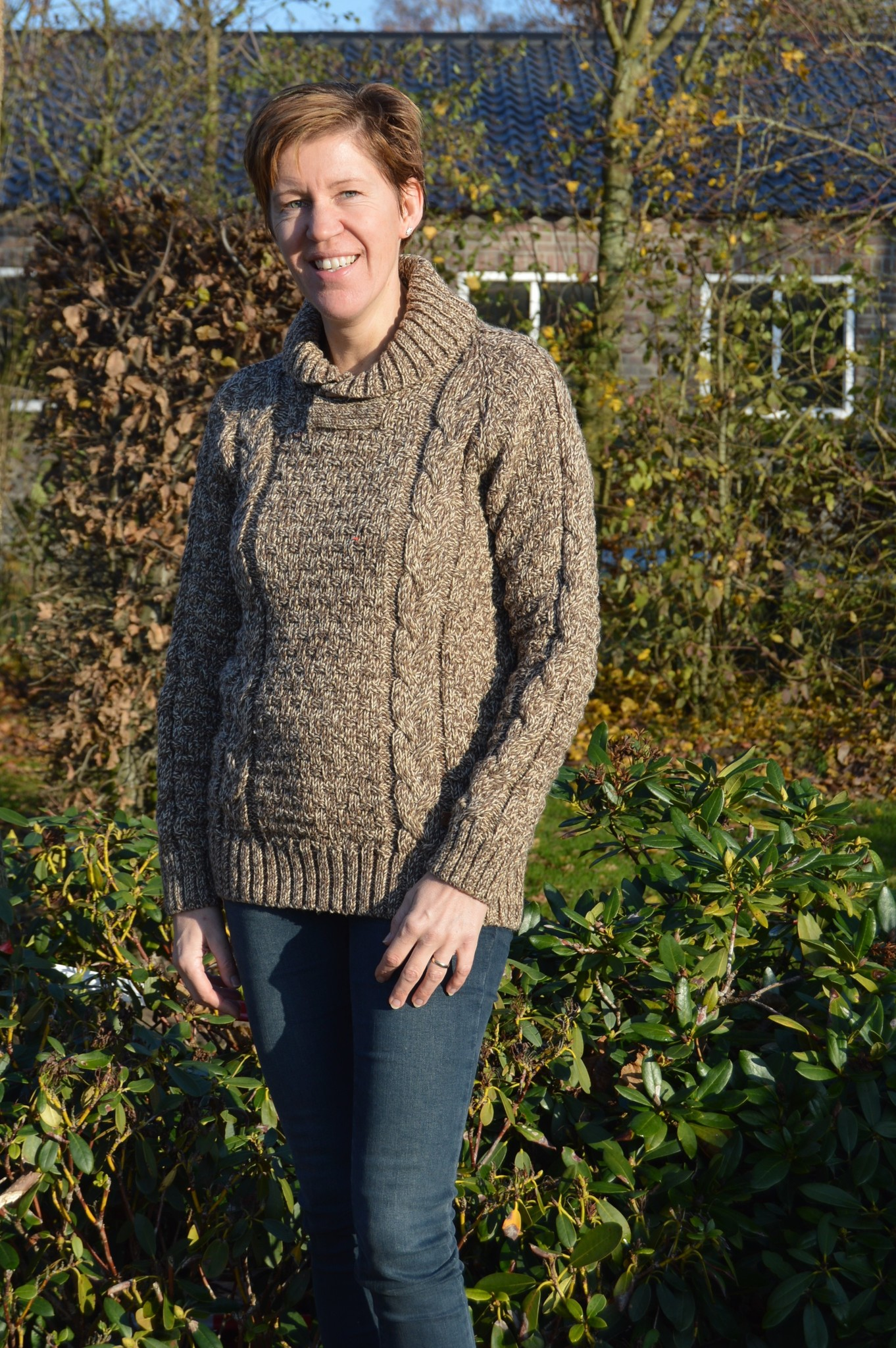 "Original South Strickpullover aus Wolle mit Zopfmuster ""Valongo"""