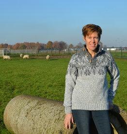 """Portugesewol Woolen Norwegian sweater """"Anjos"""""""