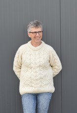 "Portugesewol  Knitted wool sweater ""Arcos"""