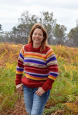 """Original South wool sweater with many colors """"Mina"""""""
