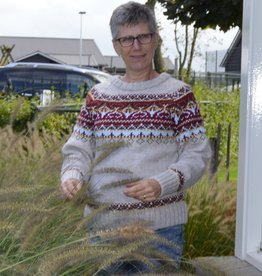 "Portugesewol Gestrickter Wollpullover ""Barca """