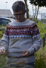 "Portugesewol Knitted wool icelandic sweater ""Barca"""