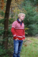Original South Norweger Pullover 'Noruega' Rot