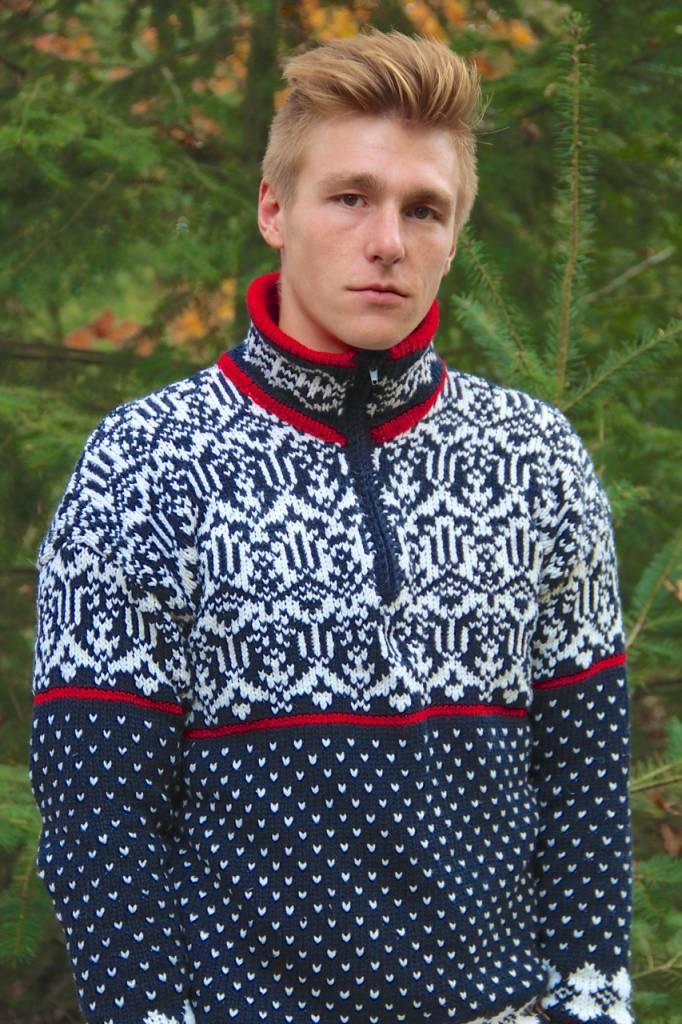 Original South Norweger Pullover 'Noruega' Blau