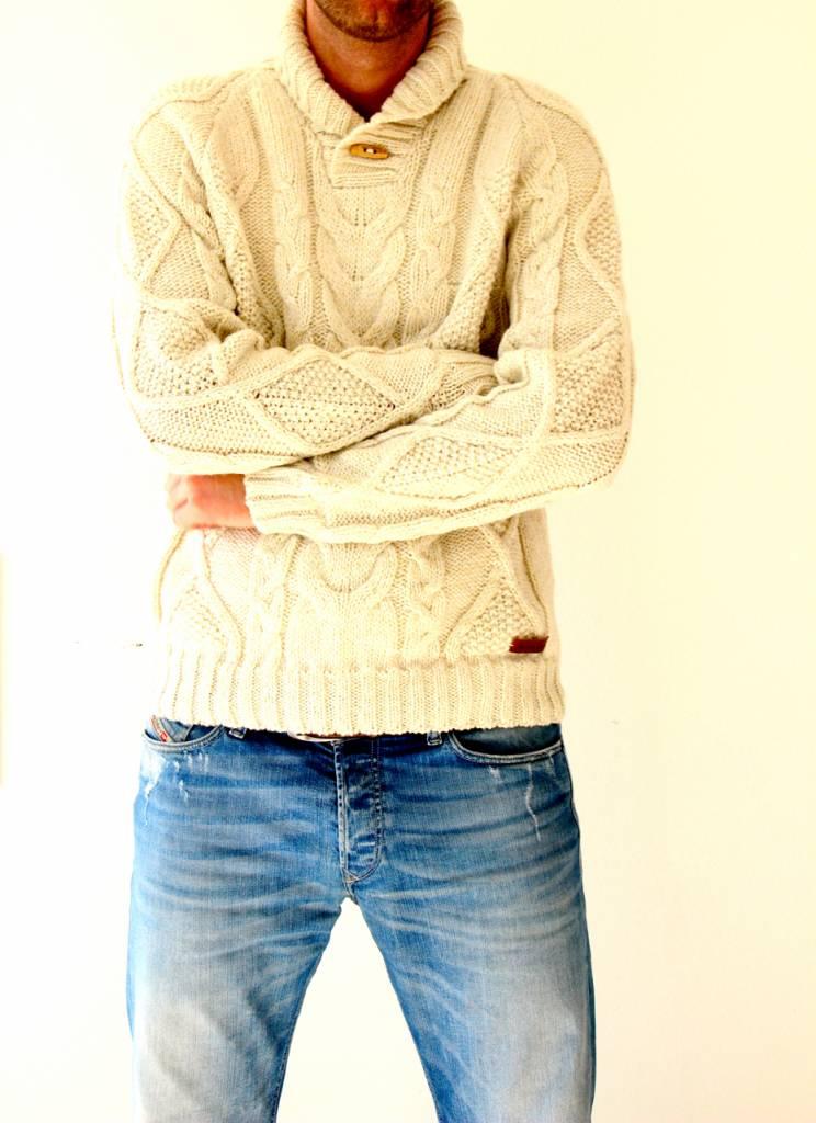 Original South Sweater 'Robusto' beige - Original South