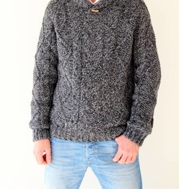 Original South Strickpullover 'Robusto' Grau