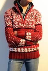 Original South Norwegian Sweater 'Noruega' Red