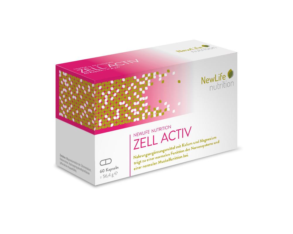 NewLife nutrition ZELL ACTIV (60 Kapseln)