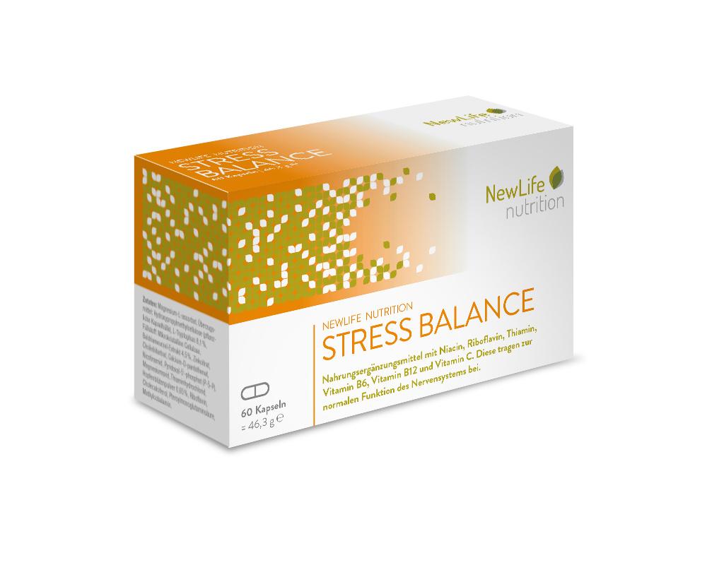 NewLife nutrition STRESS BALANCE (60 Kapseln)