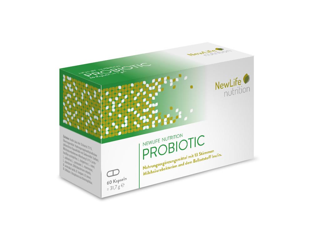 NewLife nutrition PROBIOTIC (60 Kapseln)