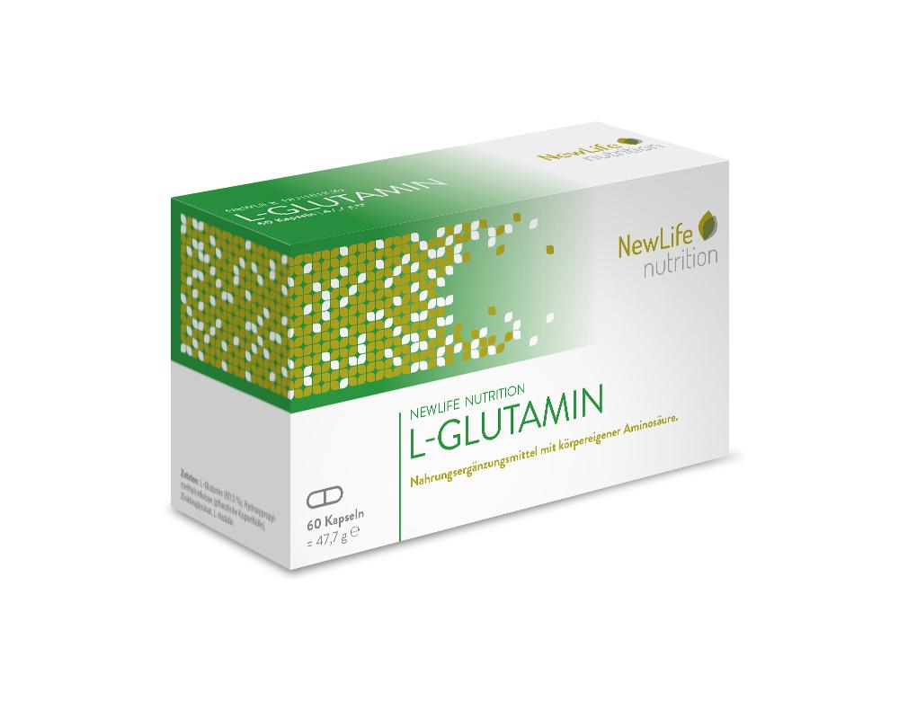 NewLife nutrition L-GLUTAMIN (60 Kapseln)