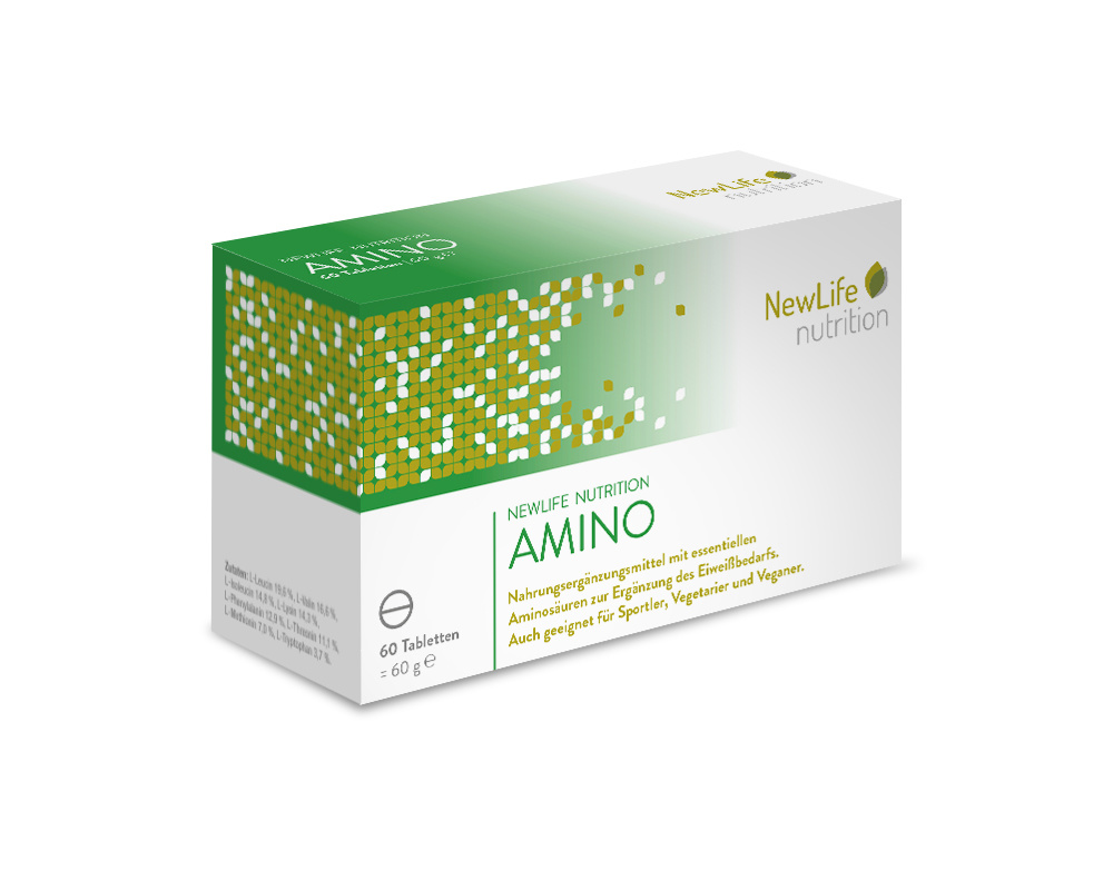 NewLife nutrition AMINO (60 Tabletten)