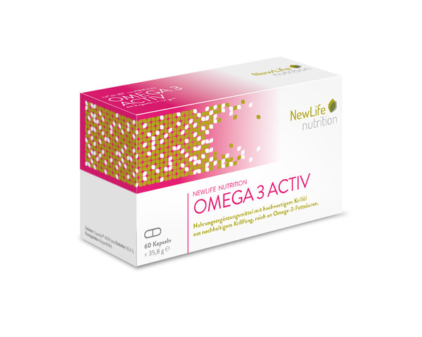 NewLife nutrition OMEGA 3 ACTIV (60 Kapseln)