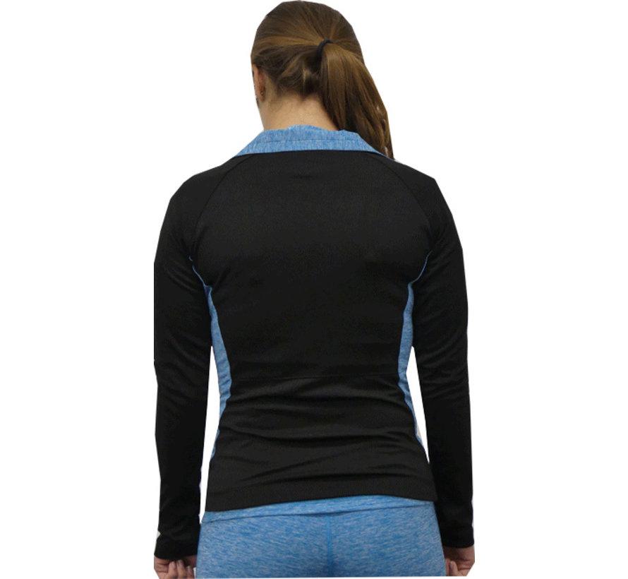 Sportliche Jacke Türkis