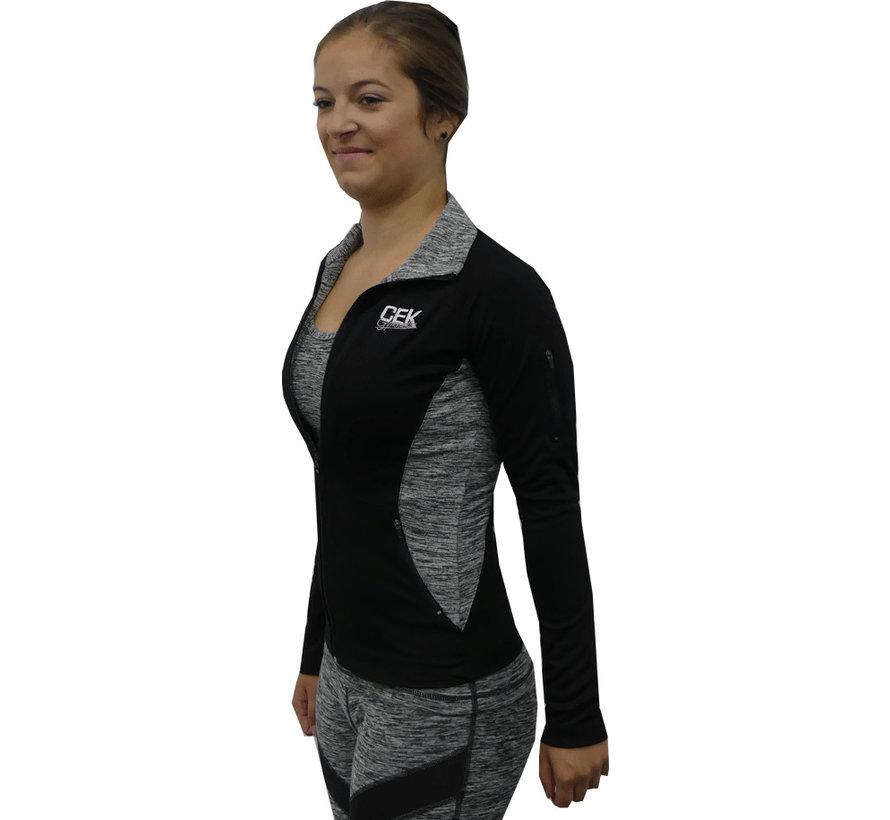 Sportief jacket Grey