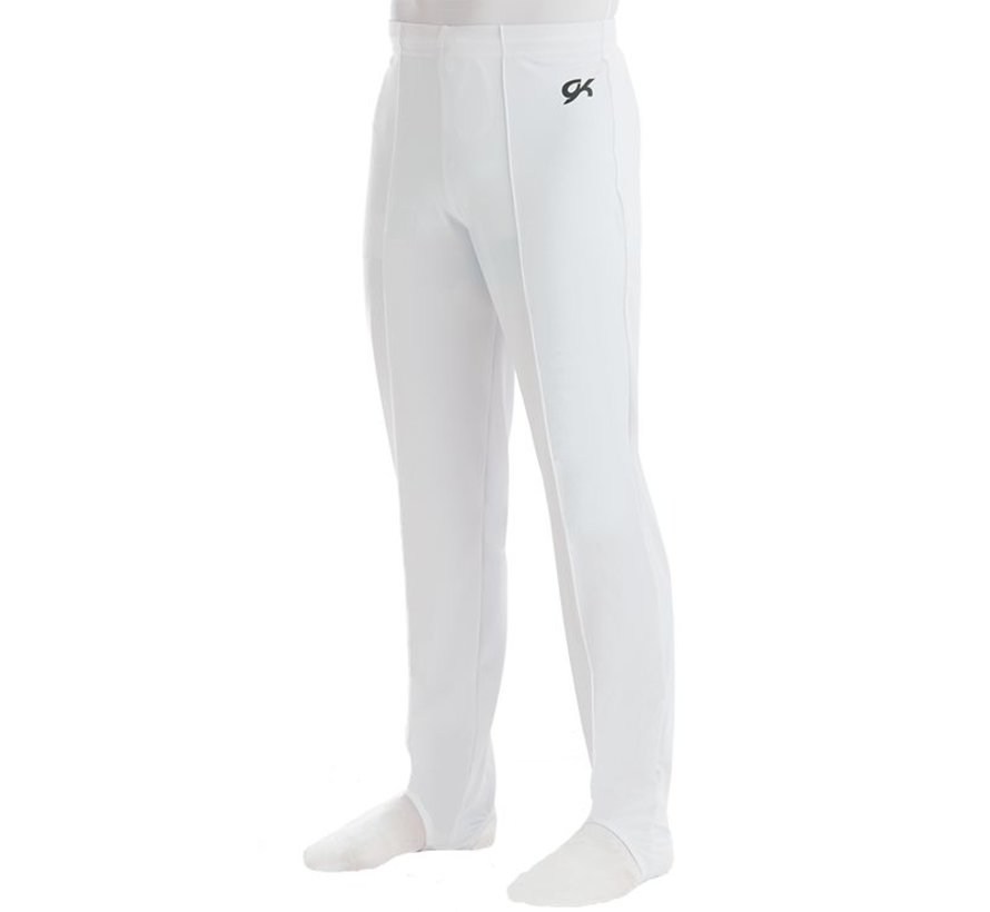 Men's Pant White Campus StretchTek