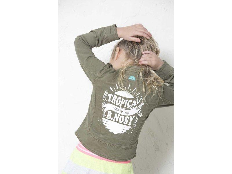 B.Nosy Stoere jacket - Fern groen