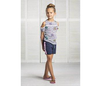 Quapi T-shirt SUNSHINE Mint Vlinder - 3