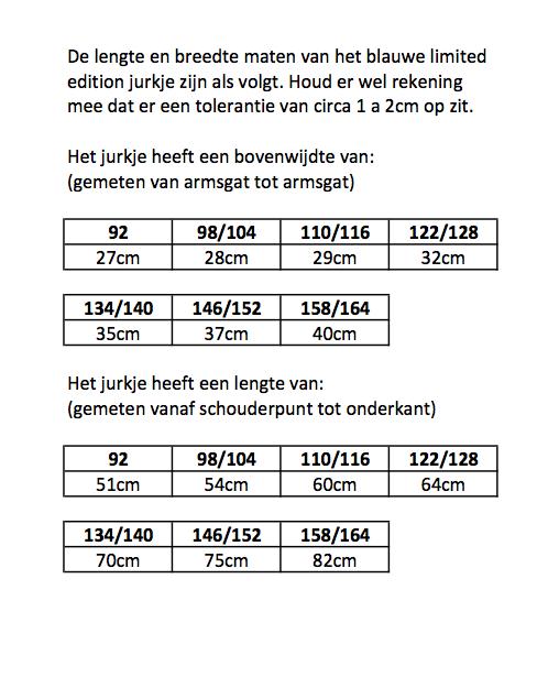 Quapi maattabel kleertjes kinderkleding te koop merkmeisjeskleding.nl jurk legging rok shirt vest zomerjas