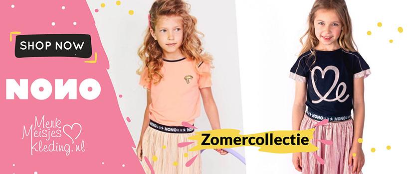NoNo kleertjes kinderkleding te koop merkmeisjeskleding.nl jurk legging rok shirt vest broek zomerjas