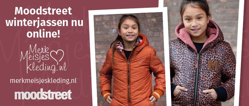 Moodstreet winterjas kleertjes kinderkleding te koop merkmeisjeskleding.nl jurk legging rok shirt vest trui haarband kniekousen