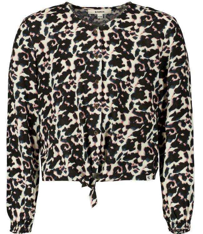 Garcia Meisjes shirt - Donker grijs