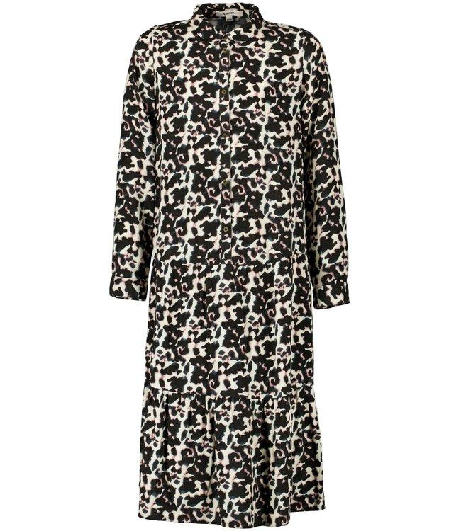 Garcia Meisjes jurk - Donker grijs