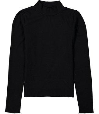 Garcia Meisjes shirt - Bijna zwart
