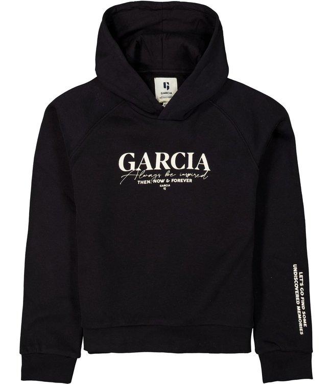 Garcia Meisjes sweater - Bijna zwart