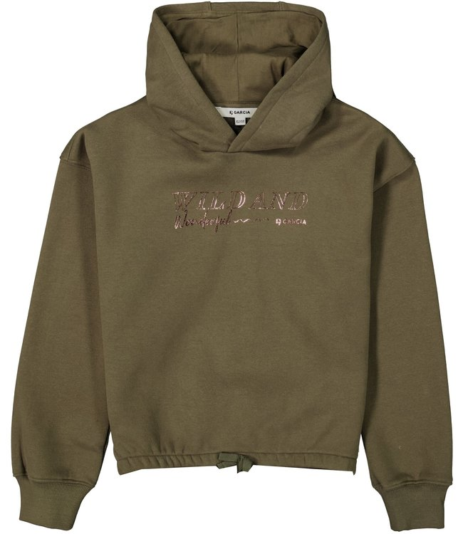 Garcia Meisjes sweater - Olijf