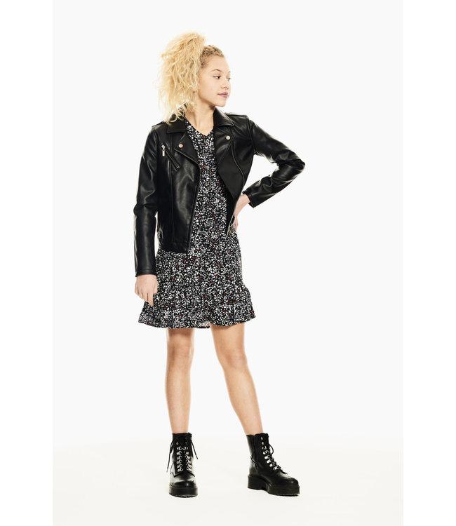 Garcia Meisjes jurk - Bijna zwart