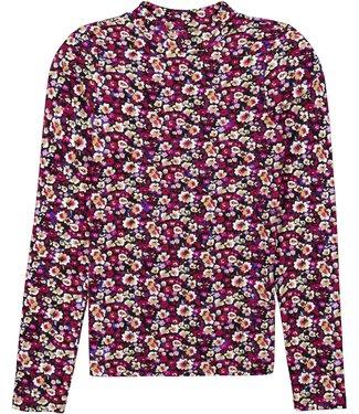 Garcia Meisjes shirt print - Cabernet